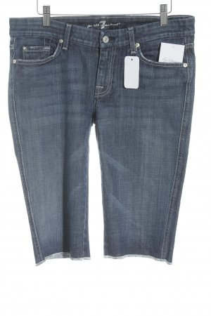 7 For All Mankind 3/4 Jeans blau Casual-Look