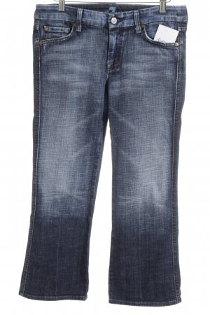 7 For All Mankind 3/4-jeans blauw casual uitstraling
