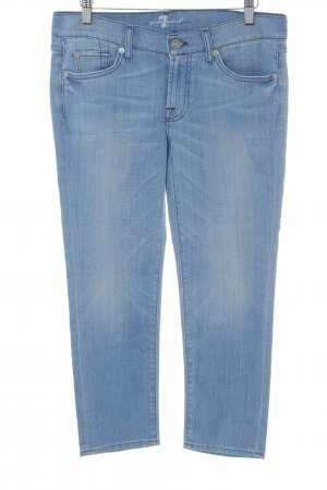 7 For All Mankind 3/4 Jeans hellblau Casual-Look
