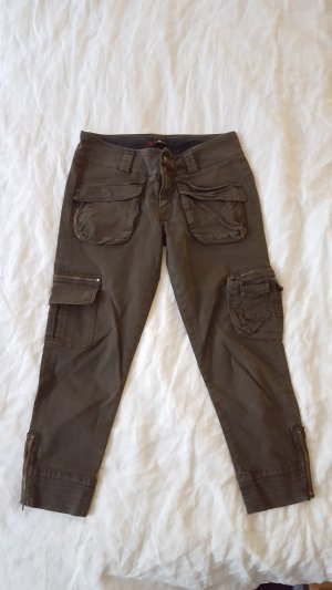 7 for all mankind 7/8 Cargo Jeans khaki 26 25