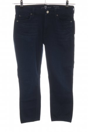 7 For All Mankind Jeans 7/8 bleu style décontracté