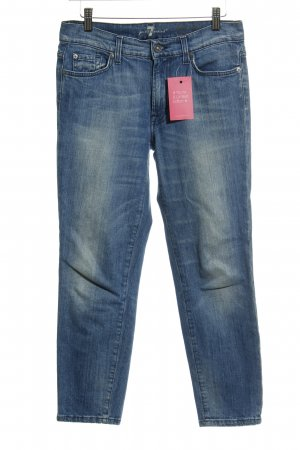 7 For All Mankind Jeans a 7/8 blu pallido stile casual
