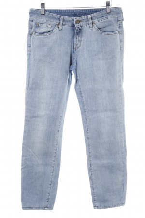7 For All Mankind Jeans 7/8 bleu pâle style décontracté