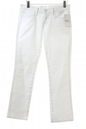 "7 For All Mankind Jeans a 7/8 ""Edie Flood"" bianco"
