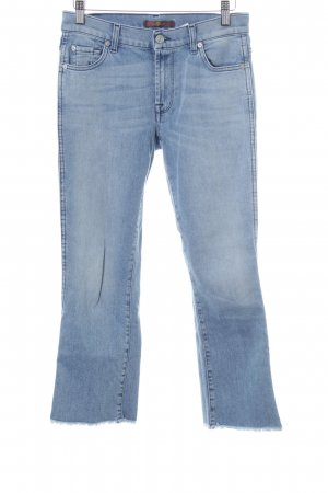 7 For All Mankind Vaquero 7/8 azul celeste look casual