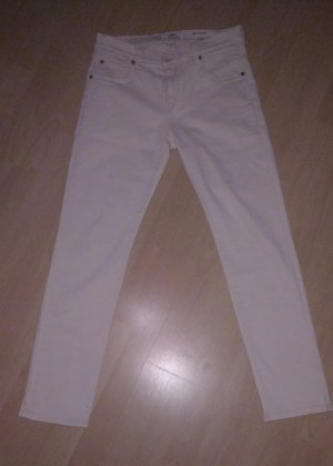 7 For All Mankind Pantalón crema