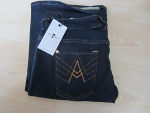 7 for All Mankind A´pocket Bootcut marine NEU