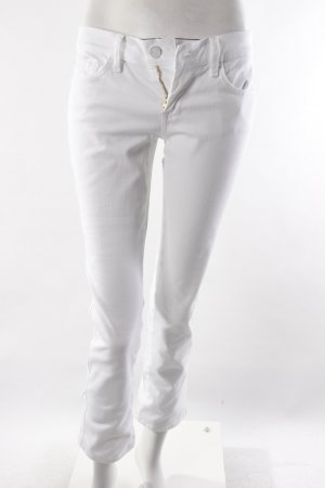 7 For All Mankind Anklejeans weiß