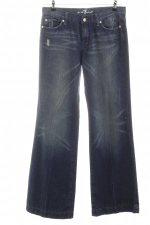 7 For All Mankind Boot Cut Jeans blue casual look