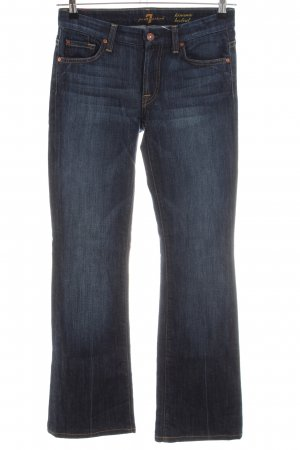 7 For All Mankind Vaquero de corte bota azul look casual