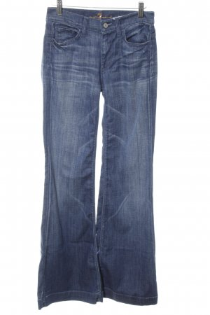 7 For All Mankind Boot Cut Jeans neonblau Casual-Look