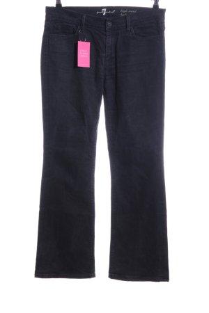 7 For All Mankind Jeans svasati nero elegante