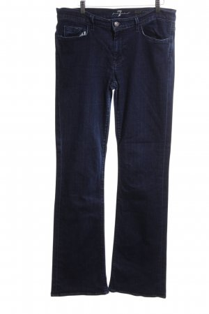 7 For All Mankind Jeans bootcut bleu Aspect de jeans