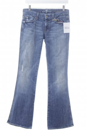 "7 For All Mankind Boot Cut Jeans ""A Pocket"" dunkelblau"