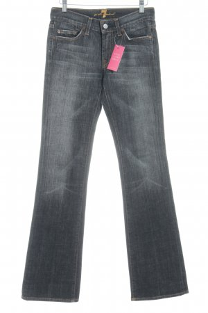 7 For All Mankind Boot Cut spijkerbroek antraciet casual uitstraling