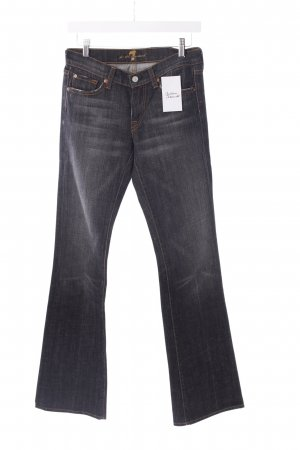 7 For All Mankind Boot Cut Jeans anthrazit Casual-Look