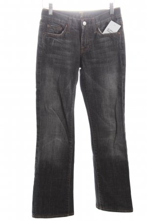 7 For All Mankind Boot Cut Jeans anthrazit Street-Fashion-Look