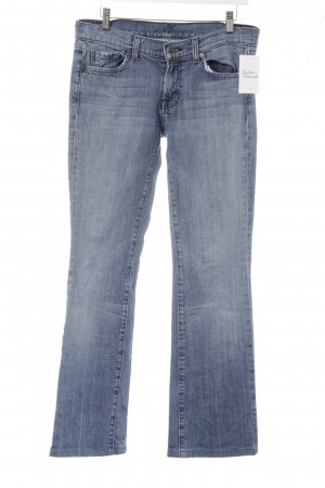 7 For All Mankind Jeans svasati blu stile casual
