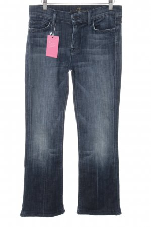 7 For All Mankind Jeans svasati blu-blu scuro stile classico