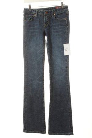 7 For All Mankind Boot Cut Jeans blau klassischer Stil