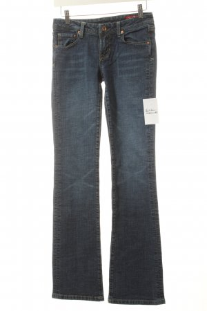7 For All Mankind Boot Cut Jeans blau klassischer Stil