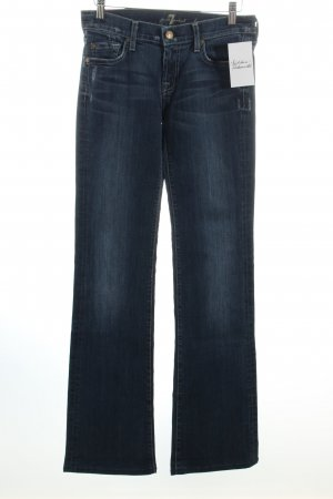 "7 For All Mankind Boot Cut Jeans ""Bootcut"" blau"