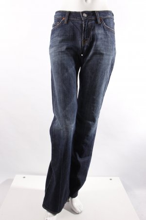 7 for all Mankind Boot Cut Jeans Bügelfaltenoptik