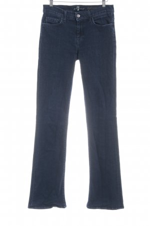 7 For All Mankind Boot Cut Jeans dunkelblau 70ies-Stil