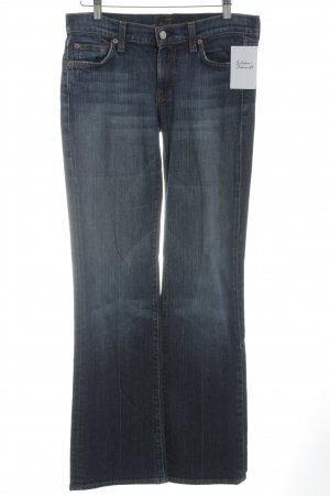 7 For All Mankind Boot Cut spijkerbroek donkerblauw casual uitstraling