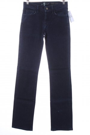 7 For All Mankind Boot Cut Jeans dunkelblau Casual-Look