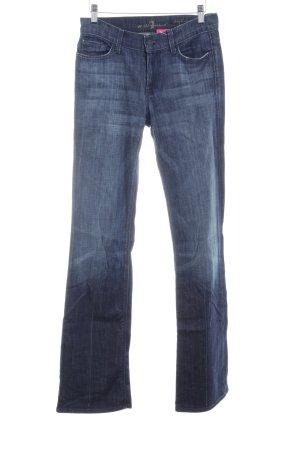 7 For All Mankind Jeans bootcut bleu foncé style décontracté