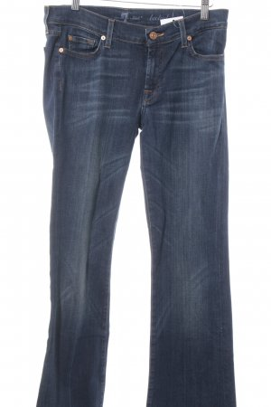 7 For All Mankind Jeans svasati blu scuro stile casual
