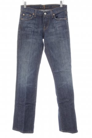 7 For All Mankind Boot Cut Jeans dark blue casual look