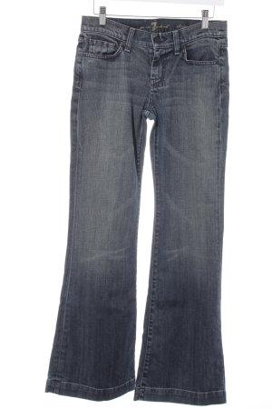 7 For All Mankind Boot Cut Jeans dunkelblau Jeans-Optik