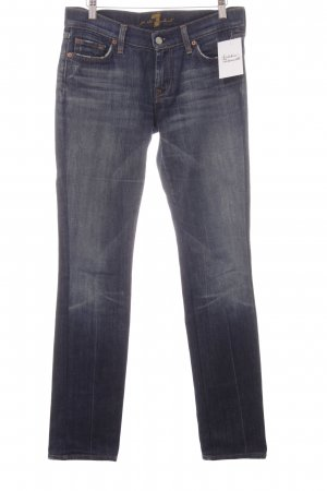 7 For All Mankind Boot Cut Jeans dunkelblau Jeans-Optik