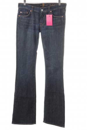 7 For All Mankind Jeans svasati blu scuro stile semplice