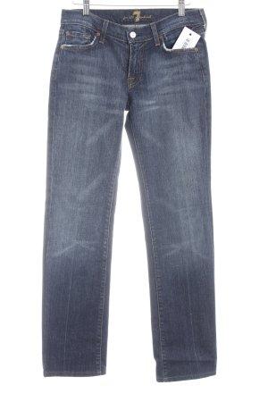 7 For All Mankind Jeans bootcut bleu foncé style rétro