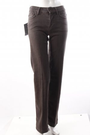 7 For All Mankind Boot Cut Jeans dunkelbraun