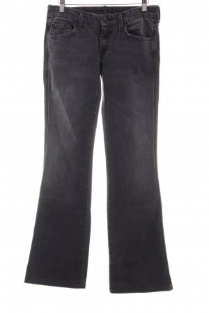 7 For All Mankind Boot Cut Jeans dunkelgrau Casual-Look