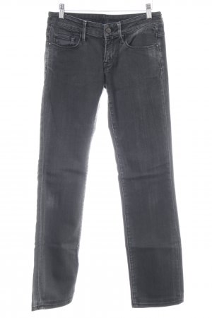 7 For All Mankind Boot Cut Jeans dunkelgrau Jeans-Optik
