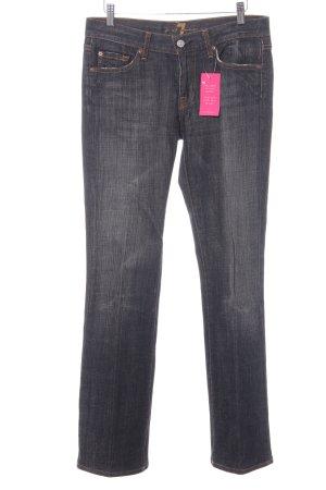 7 For All Mankind Jeans bootcut gris foncé style délavé