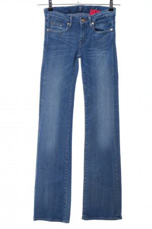 7 For All Mankind Jeans bootcut bleu style décontracté