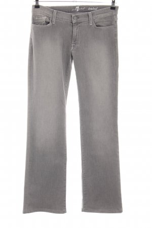 7 For All Mankind Boot Cut Jeans hellgrau Casual-Look