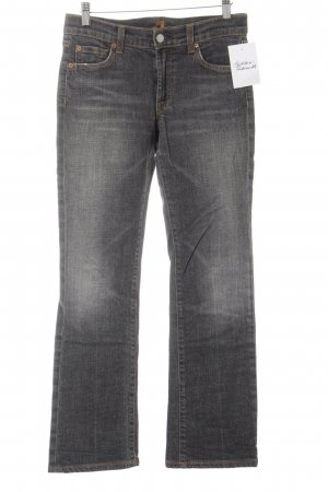 7 For All Mankind Boot Cut spijkerbroek grijs-licht Oranje casual uitstraling