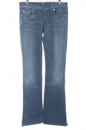 7 For All Mankind Boot Cut Jeans graublau Casual-Look
