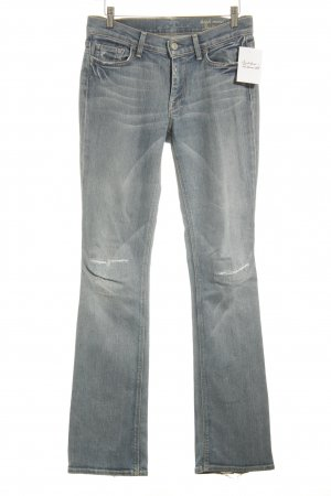 7 For All Mankind Boot Cut Jeans hellblau Casual-Look
