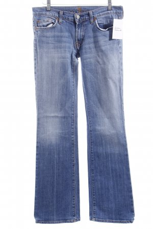 7 For All Mankind Boot Cut Jeans himmelblau Casual-Look