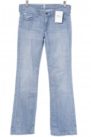 7 For All Mankind Boot Cut spijkerbroek azuur casual uitstraling