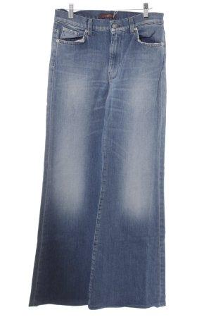 7 For All Mankind Jeans svasati azzurro stile stravagante