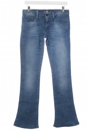 """7 For All Mankind Boot Cut Jeans """"kaylie"""" dunkelblau"""